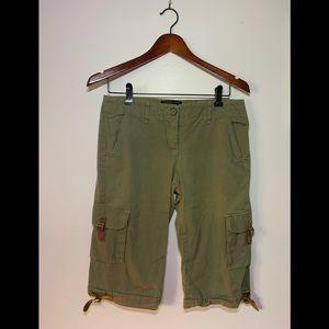 Vintage BCBG safari shorts